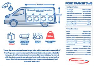 hire a ford transit van