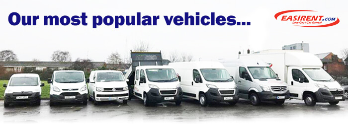 East Midlands Airport Van Hire